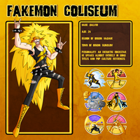Fakemon Coliseum: Gym leader 3 -  Galvin by MTC-Studio
