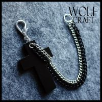 WOLF CRAFT Crucifix and Chains by SugarAndSpiceDIY