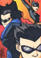 ShadowOfTheBat sketch card by KidNotorious