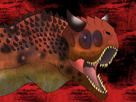 Carnotaurus by T-Reqs