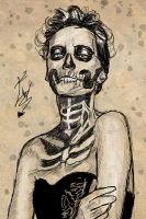 Woman Skull by emilie86