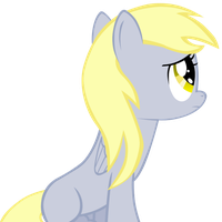 Sad filly Derpy by TheTunderstormBrony
