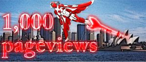 1000 pageviews by Sevenslashes