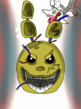 Springtrap and............. by Nonacrone