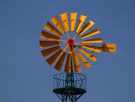 Typical Windmill 1228335 by StockProject1