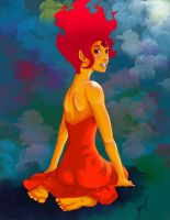 Flame Princess by gameshield