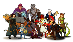 Vox Machina by capefoxalix