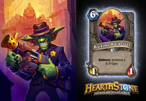 Hearthstone Big Time Racketeer by AJNazzaro