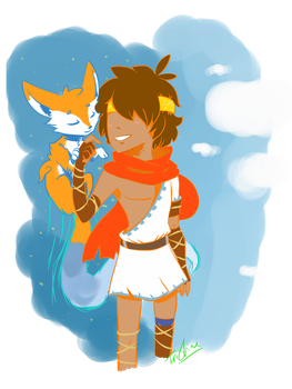 The Boy and The Fox (Rime) by TriShine