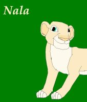 Horrible Pic of Nala by Alpha-Wolff