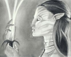 Neytiri Connected by be-a-sin