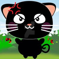 Exoro Designs Emoticons Cat - Angry by ExoroDesigns