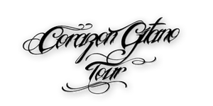 Texto PNG Corazon Gitano Tour by CoonieEditions