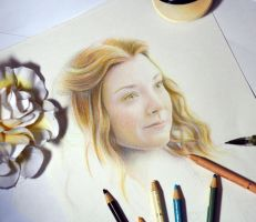 Margery Tyrell ( Game of Thrones) Wip by Alena-Koshkar