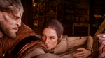 Giving Iron Bull the Eye xD by MoggyMan