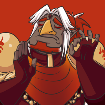 When Vel hits you with the frying pan just right by AnatomicAndi