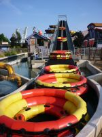 Boat Time, Thorpe Park by ggeudraco