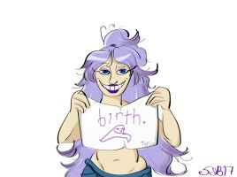 God is 18 by WhispersBetteNoir