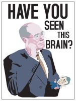 Have you seen this brain? by dugebag