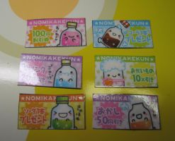 Cute soda magnet set by skookyspry