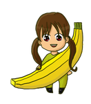 Request: Subvertta in Banana Suit by silente64