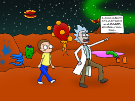 Adventure, Morty! by DrawtoonzStudio