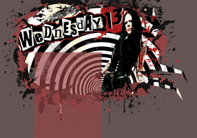 Wednesday 13 Fanlisting Layout by ghoulskout