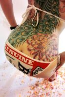 TATTOOs on back by emizanemin