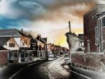 Tower Street, Sunset by Lothrian