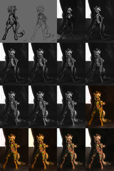 Applejack Exalted [WIP] by AssasinMonkey