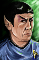Spock: Nimoy by Phoenix-Cry