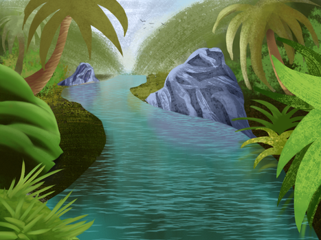 Jungle River by jamheadii