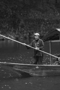 Arashiyama Boatman by Salgor