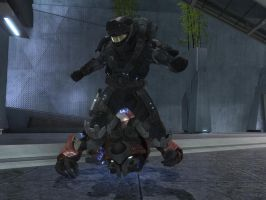Halo Reach Head Stomp by redrum201