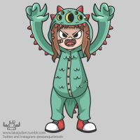 Kaiju Kid by ExoesqueletoDV