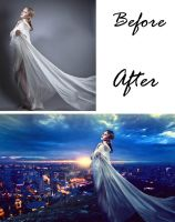 Before and after I want you back by Izzys-Photo-Corner