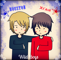 Xian and Houston (males) by Ask-City-Of-Houston