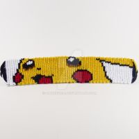 Pikachu 1 inch Friendship Bracelet by CarrieBea