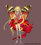 Butterfly Usagi by The-Doll-In-Chains