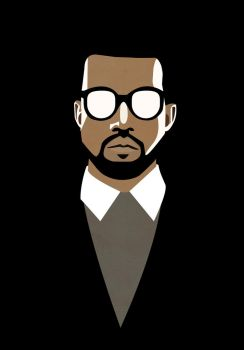 Kanye West by lil-blue-cube
