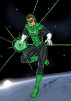 Green Lantern by jmaturino