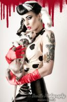 Violet Eyes as Cruella DeVille by DevillePhotography