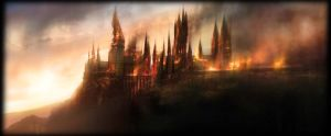Hogwarts is burning by Lost-in-Hogwarts