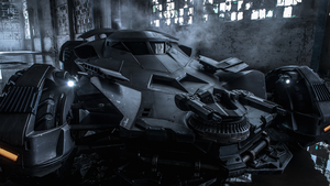 The Batmobile - Batman v Superman Wallpaper by LamboMan7