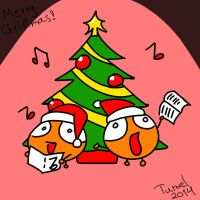 Merry Christmas and Happy Holidays by Turoel