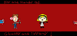 Billy and Mandy as Chucky and Tiffany. by Smurfette123