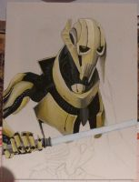 General Grievous - WIP by Nordgrot