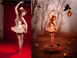 Dancing Doll Before After by Kryseis-Art