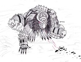 One arm Predator 2012 by Bender18