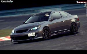 Honda Civic 7G Coupe by CypoDesign
